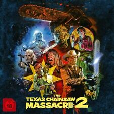 The Texas Chainsaw Massacre 2 - Limited Collector's Box Blu-ray FSK18 *NEU*OVP*