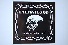 Eye Hate God Sticker Decal (306) Rock Metal Gorgoroth Hellhammer Death Immortal