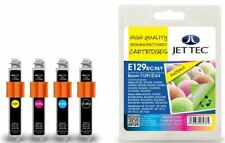 JetTec T1291/2/3/4 Multipack Compatible Ink Cartridge for Epson - E129B/C/M/Y