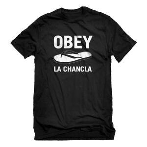 Mens Obey La Chancla Short Sleeve T-shirt #3716