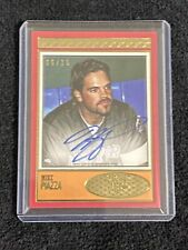 2018 Topps Brooklyn Collection Mike Piazza RED On Card AUTO #6/15 New York Mets