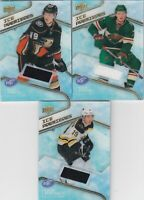 2019-20 UPPER DECK ICE HOCKEY lot of 3 ICE PREMIERES ROOKIES JERSEY    LOT 34  a