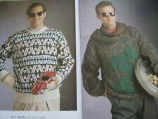 Anny Blatt Knitting Book #105 Special Men Issue All Shown