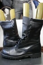 No Side Zipper Size 10.5 E A Wide Selection Of Colours And Designs Original Corcoran Black Leather Jump Boots