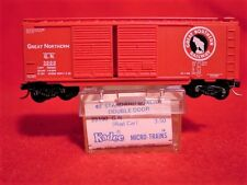KD 23060 (Blue Label 23190) GREAT NORTHERN 40' DD Box Car #3000 MINT N-SCALE