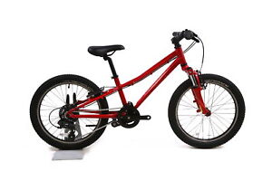"Specialized HotRock 20"" Kid's Bike 1 x 7 Shimano Twist Shift V-Brakes Red"