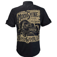 Worker Shirt, Hemd, Rockabilly, Rock and Roll, Hot Rod, Moonshine