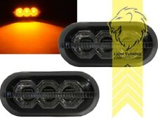 LED Seitenblinker für Renault Clio A Clio B Twingo 1 Megane 1 schwarz smoke