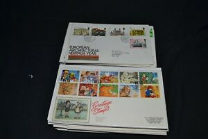 GB first day covers etc x 127 1970's to 2000's period + couple earlier.