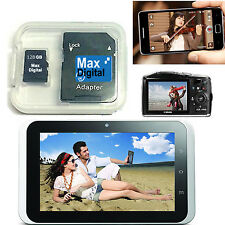 128GB MICRO SD MEMORY CARD FOR MOBILE PHONES , CAMERAS , TABLETS ,RECORDERS &etc