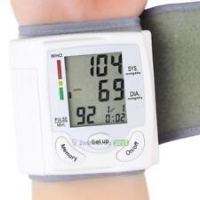 Health Arm Meter Pulse Wrist Blood Pressure Monitor Display Sphygmomanometer