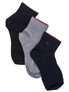 Hemp Socks for Men 6/9/12/18 Pairs 6-9 US Size Low Ankle Blue Grey Black Socks