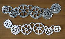 Cogs, Gears, Steampunk, Clockwork Metal Die - BNIP - FREE P&P