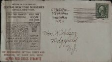 Central NY Nurseries Advertising Cover w Letter New York NY