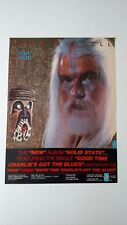 """Leon Russell """" Solid State"""" (1984) Rare Original Print Promo Poster Ad"""