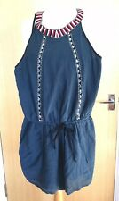 River Island Playsuit 12 Summer Casual Holiday Pool Party Festival Boho