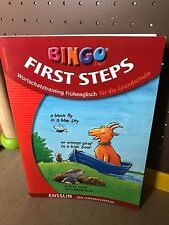 Lernbuch BINGO Logo Frühenglisch First Steps Wortschatz Grundschule Übungsheft