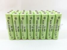 24 AAA 600mAh Ni-Mh Rechargeable Battery for Solar Landscape Path Lights   D24