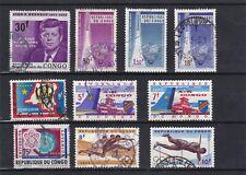 timbres Congo