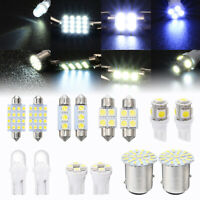 14 Pcs LED 1157 T10 31 36mm 12SMD Car Auto Interior Map Dome License Plate Light