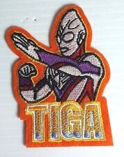 "UltraMan Tiga  Cartoon 3.5"" Embroidered Patch- USA Mailed (Ultra-04)"
