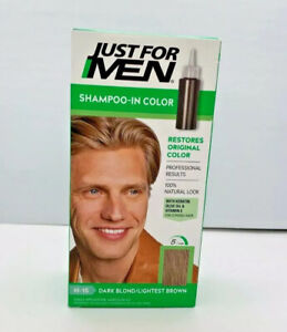 Just for Men shampoo in color Dark Blond Lightest Brown H-15 one pack