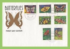 Butterflies First Day Cover African Stamps