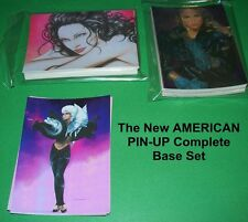 The New AMERICAN PIN-UP  COMPLETE BASE SET - Adult Themes