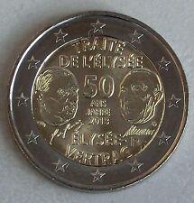 2 euros francia 2013 elíseo-tratado unz.