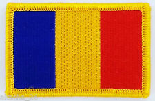 PATCH ECUSSON BRODE DRAPEAU TCHAD CHAD INSIGNE THERMOCOLLANT NEUF FLAG PATCHE