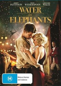Water For Elephants (DVD, 2011) Drama Robert Patterson, Reece Witherspoon