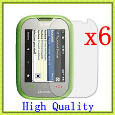6 Pcs HD Clear LCD Screen Protector Guard Cover For Pantech AT&T Pursuit P9020