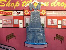 WOMENS,ARIZONA,WAIST:30,BLUE JEANS,DENIM,BIB,OVERALLS,SKIRT DRESS,XS,EXTRA SMALL