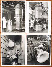 10 photos photographie moteur avion ROLLS-ROYCE dossier de presse 1963