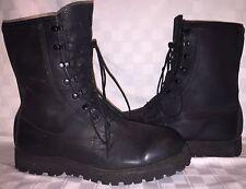 Mens Size 12 R BELLEVILLE Combat Military Black Leather GORE-TEX Lace Up Boots
