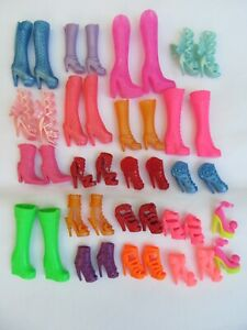 10x Pairs Dolls High & Ankle Boots Heels Made for Barbie Dolls UK Seller FreeP&P