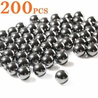 200pcs Outdoor Slingshot Catapult Ammo Steel Balls For Hunting Shooting 6/8/10mm