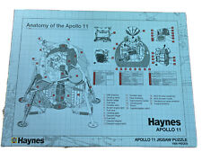 Jigsaw Puzzle HAYNES ANATOMY OF THE APOLLO 11 1000 PIECE Sealed Contents