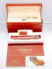 Dupont Fidelio Kugelschreiber Sterling Silber 925 Argent Massif Ballpoint Pen