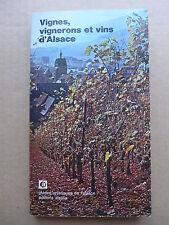 Vignes, vignerons et vins d'Alsace  /  1975