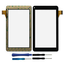 """7"""" Touch Screen Digitizer For Beex Rainbow Tablet 186x104 mm aoc 50155 86V +T"""