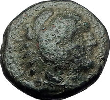 ALEXANDER III the GREAT 336BC Hercules Club Macedonia Ancient Greek Coin i60826