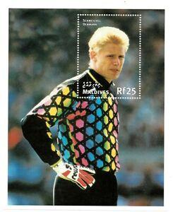 VINTAGE CLASSICS - Maldives 2294 - '98 World Cup Schmeichel Denmark - S/S - MNH