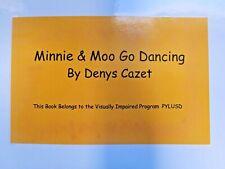 Minnie & Moo Go Dancing by Denys Cazet ~ in Braille for the Blind Children