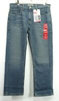 New Signature By Levi Strauss Mens Stretch Denim Relaxed Stretch Jeans 34 x 30