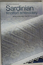 Sardinian Knotted Embroidery: Whitework from Teulada - Yvette Stanton NEW