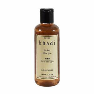 Swati Khadi Herbal Amla Shampoo Paraben Free 210 ml