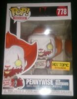 IT Chapter 2 Pennywise with Skateboard Hot Topic Exclusive #778 Pop Vinyl