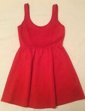 Ladies Women's Teen Girls Size Medium Forever 21 Red Summer Dress