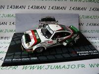 voiture 1/43 IXO altaya ITALIE Rallye Monte Carlo 1980 PORSCHE 911 Sc Beguin